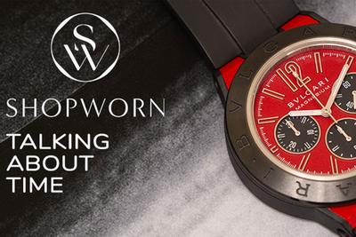 ShopWorn Talking About Time: Chronograph