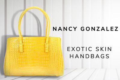 Nancy Gonzalez Exotic Skin Handbags