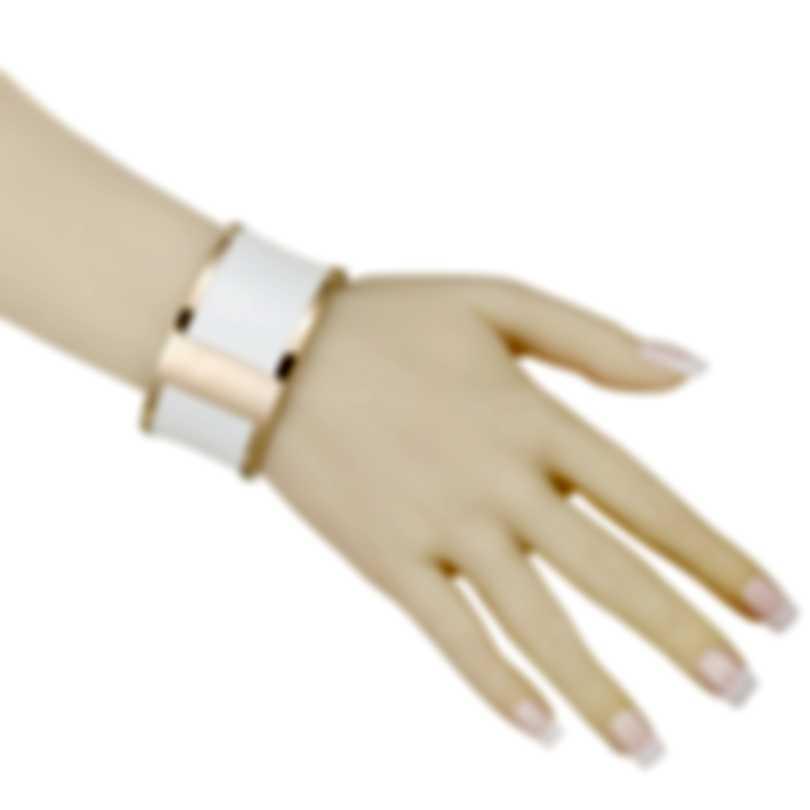 Calvin Klein Spellbound Gold-PVD Steel Imitation Python Bracelet KJ0DPD1902-XS