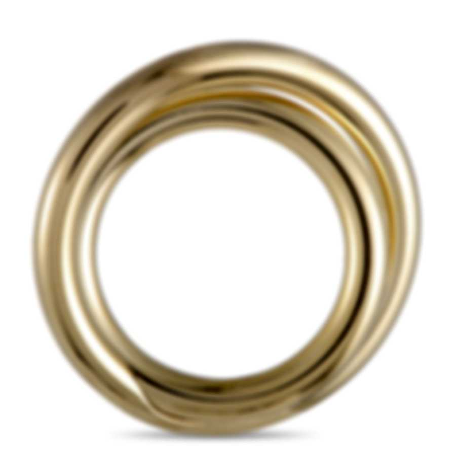 """Calvin Klein - """"Continue"""" Yellow Gold PVD Stainless Steel Ring KJ0EJR1001-06"""