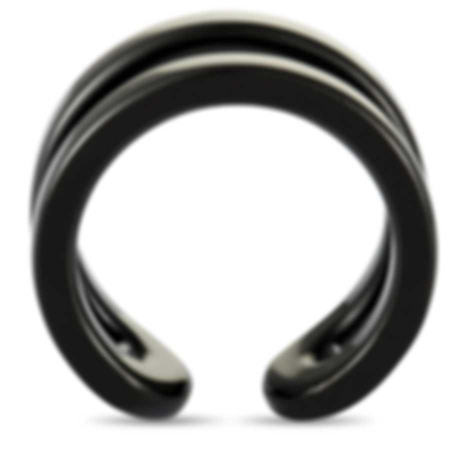 """Calvin Klein - """"Return"""" Black PVD Stainless Steel Ring KJ0ZBR0001-05"""