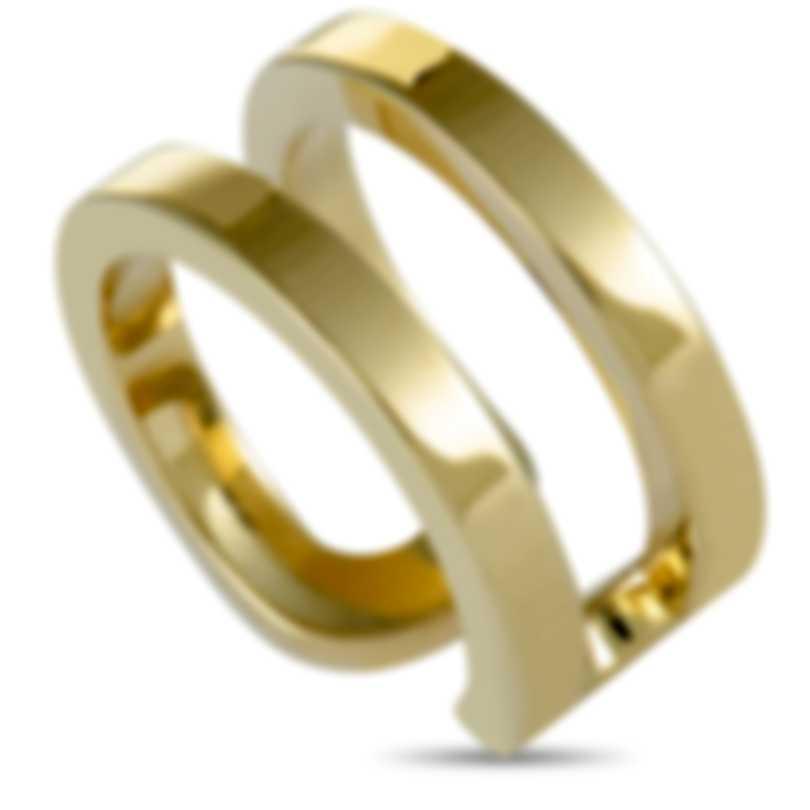 """Calvin Klein - """"Return"""" Yellow PVD Stainless Steel Ring KJ0ZJR0001-05"""