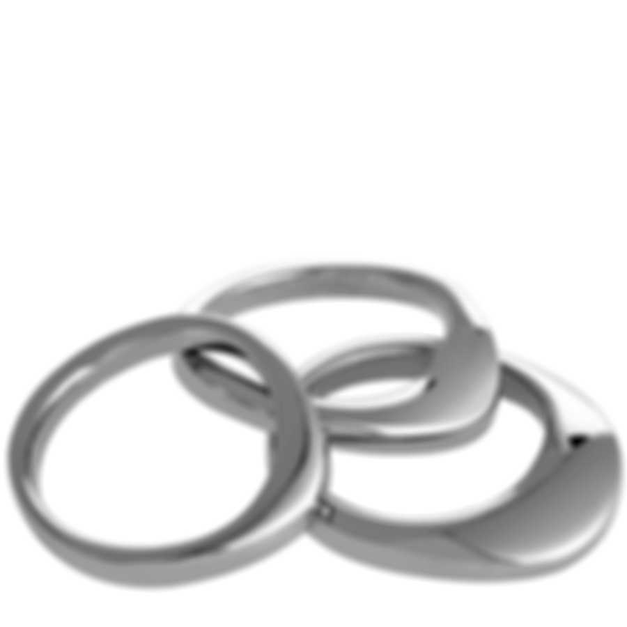 "Calvin Klein - ""Undulate"" Stainless Steel Rings Set KJ1AMR0001-06"
