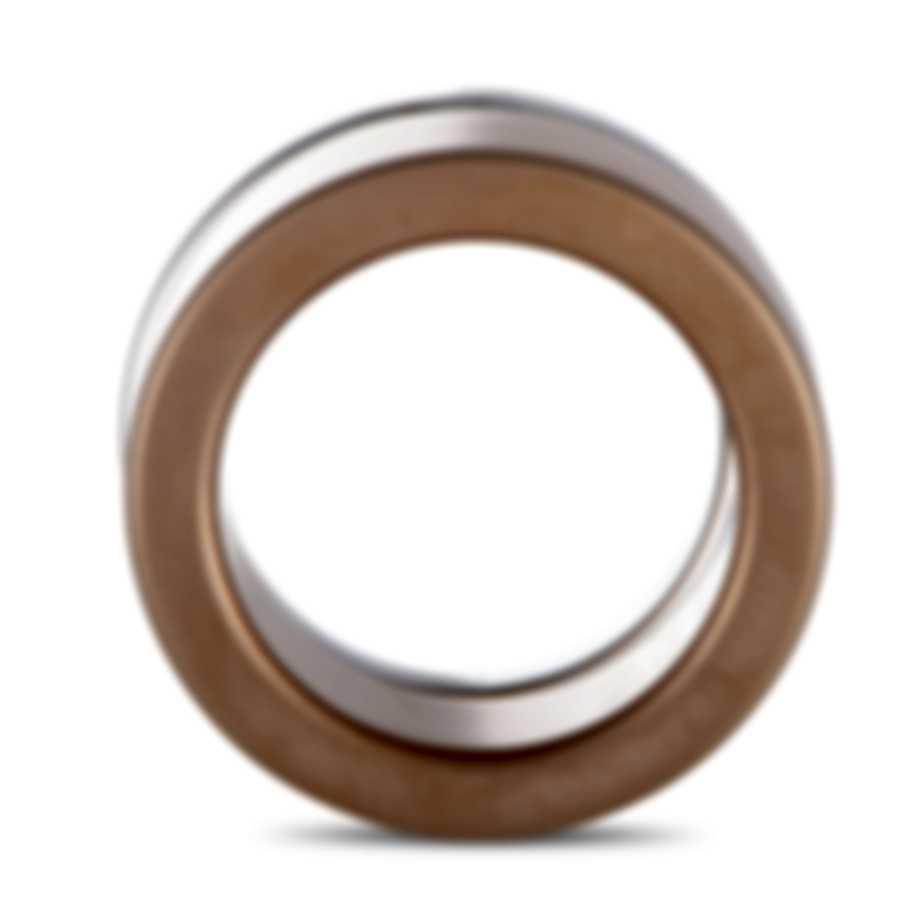 """Calvin Klein """"Satisfaction"""" Pink PVD Stainless Steel Rings Set KJ1DPR2801-06"""