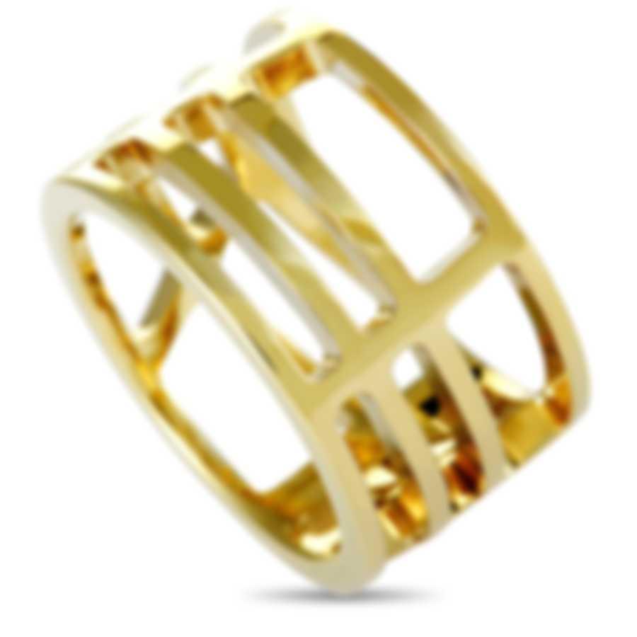 Calvin Klein Draw Yellow PVD Stainless Steel Ring KJ1TJR1001-05