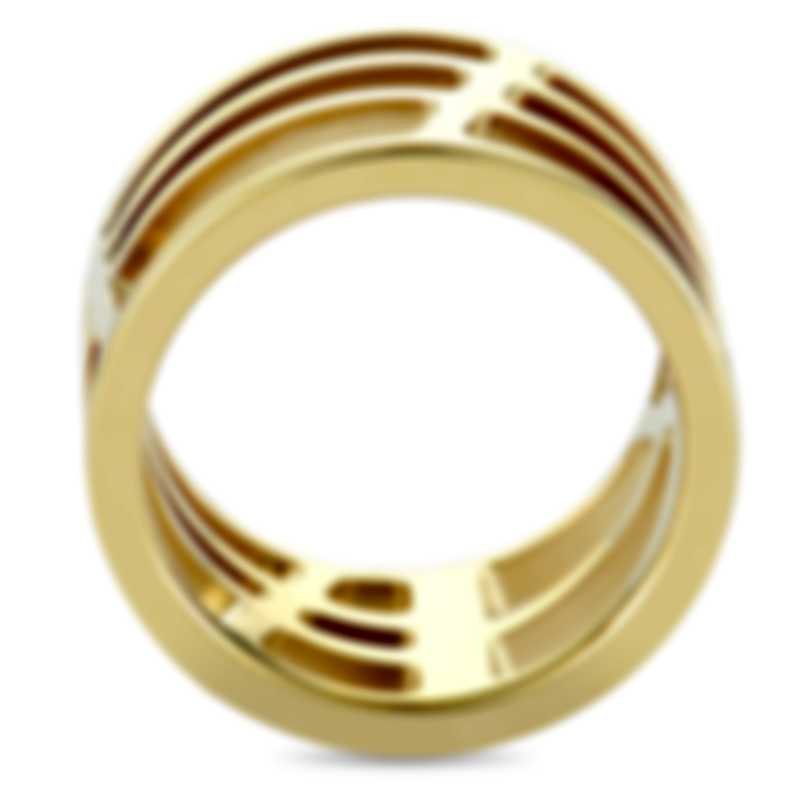 Calvin Klein Draw Yellow PVD Stainless Steel Ring KJ1TJR1001-05