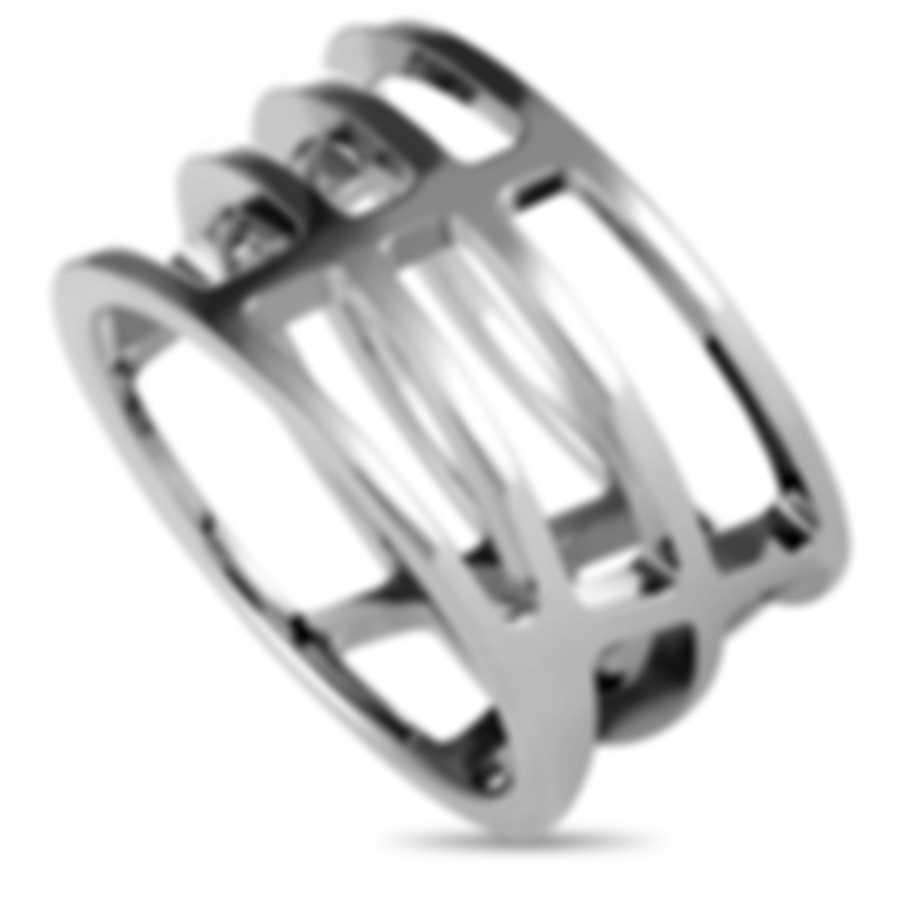 "Calvin Klein - ""Draw"" Stainless Steel Ring KJ1TMR0001-05"
