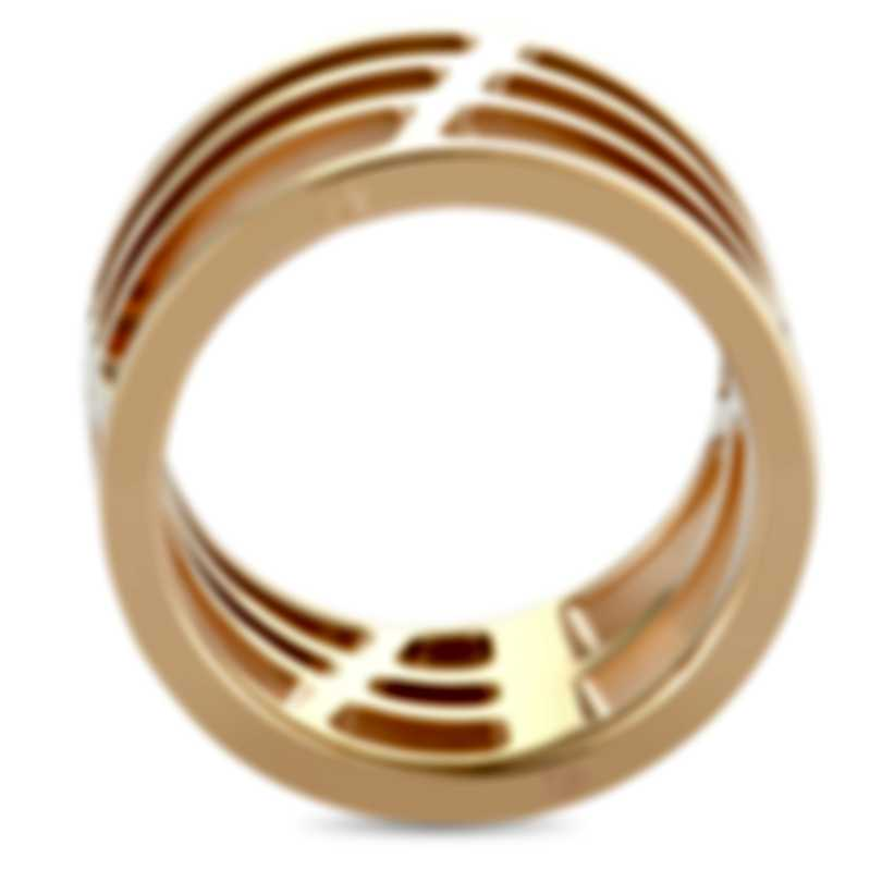 """Calvin Klein - """"Draw"""" Pink PVD Stainless Steel Ring KJ1TPR1001-05"""