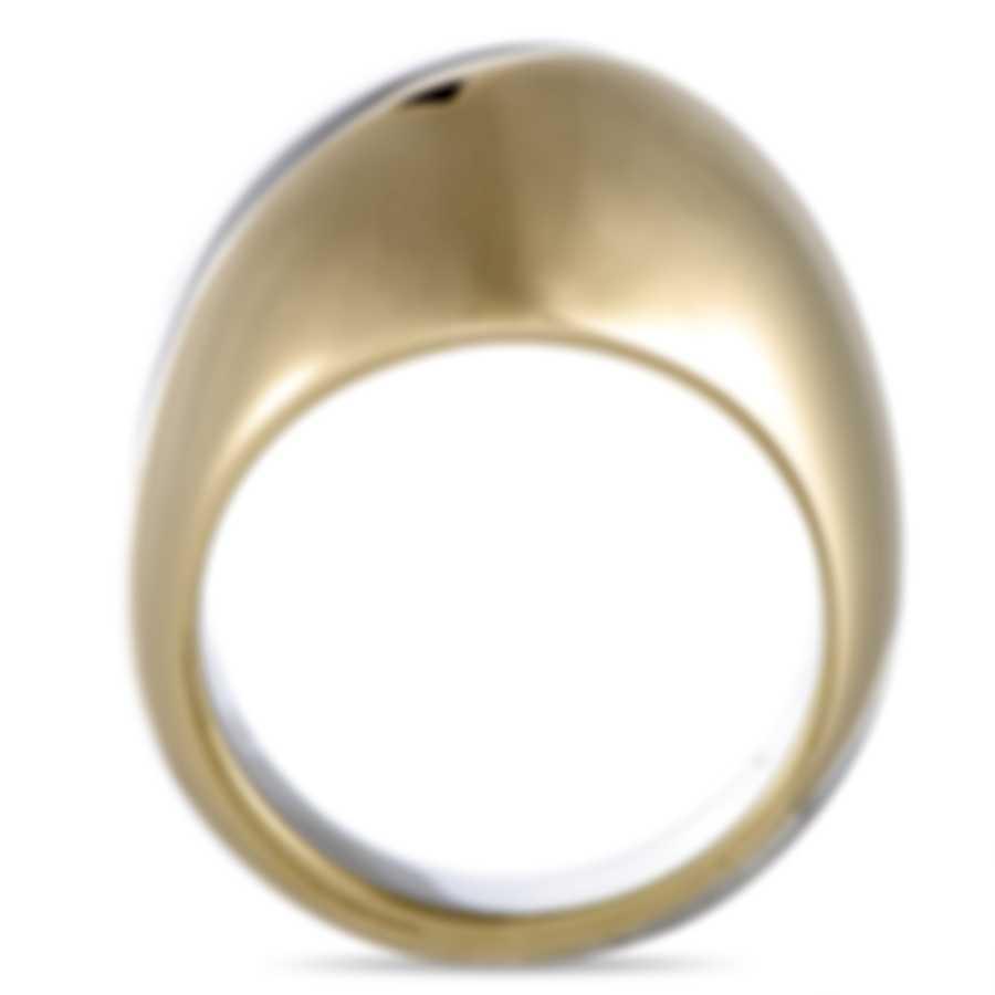 """Calvin Klein - """"Empathic"""" Yellow PVD Stainless Steel Ring KJ1VJR2001-06"""