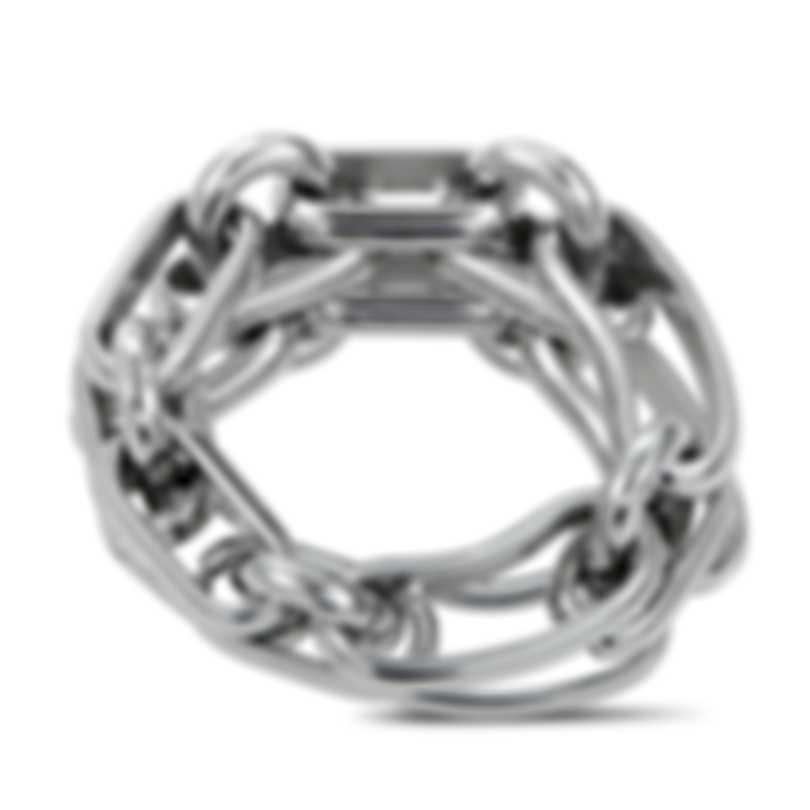 """Calvin Klein - """"Flatly"""" Stainless Steel Ring KJ2EMR0001-06"""
