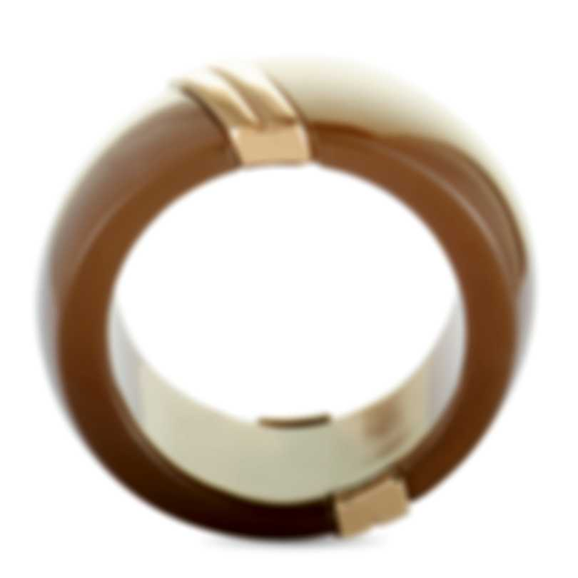 """Calvin Klein """"Vision"""" Gold PVD-Plated Stainless Steel Ring KJ2RCR2902-06"""