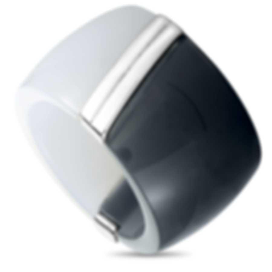 """Calvin Klein - """"Vision"""" Stainless Steel Ring KJ2RWR3901-06"""