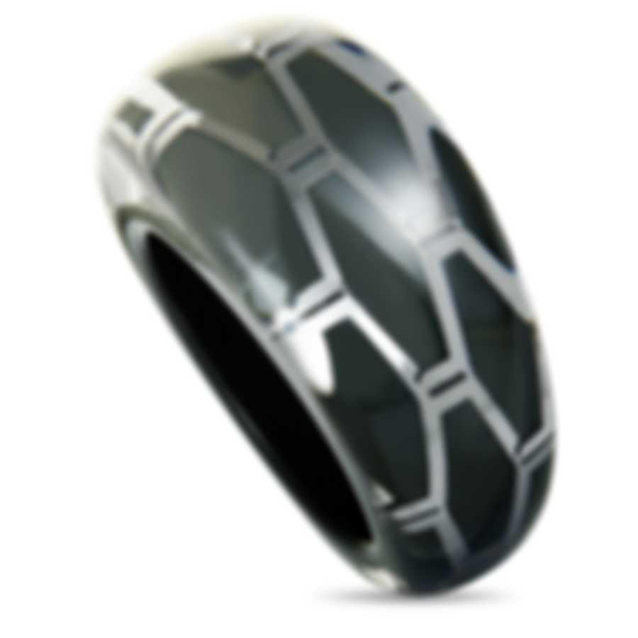 "Calvin Klein - ""Abstract"" Stainless Steel Ring KJ2SAR5601-06"