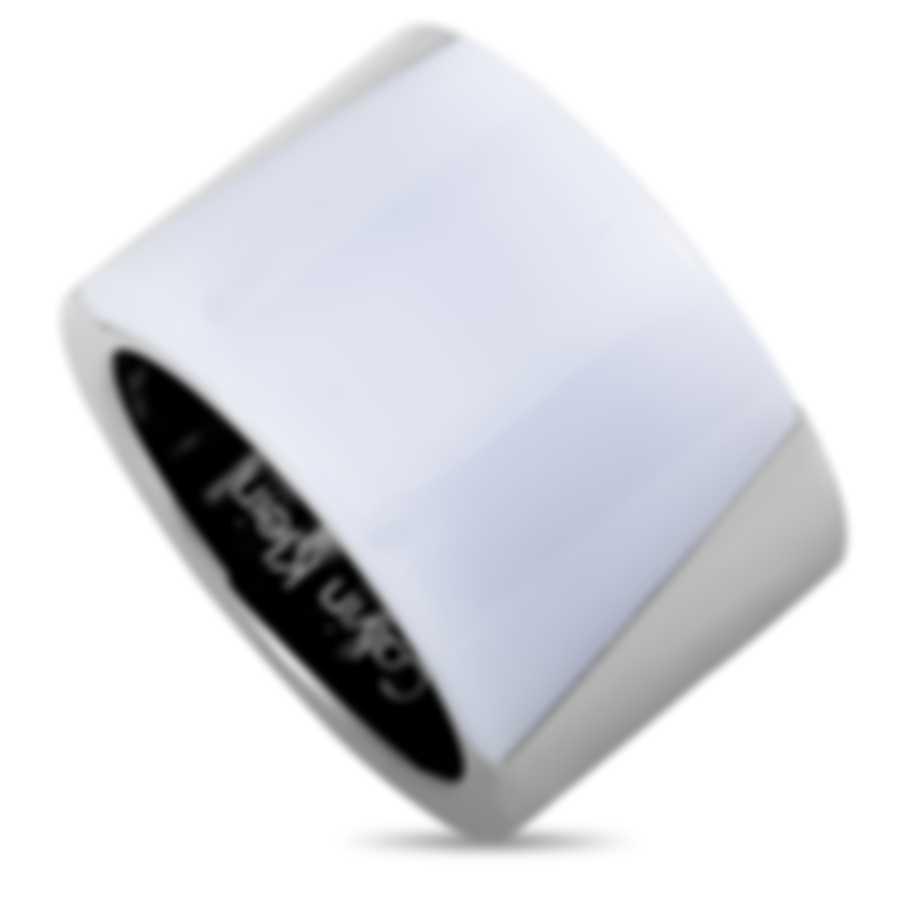 "Calvin Klein - ""Distinct"" Stainless Steel Ring KJ2ZWR2901-06"