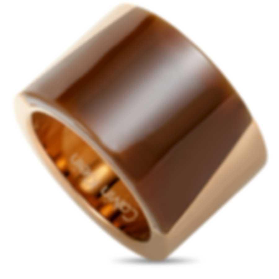"Calvin Klein ""Distinct"" Gold-Plated PVD Stainless Steel Ring KJ2ZCR2902-06"