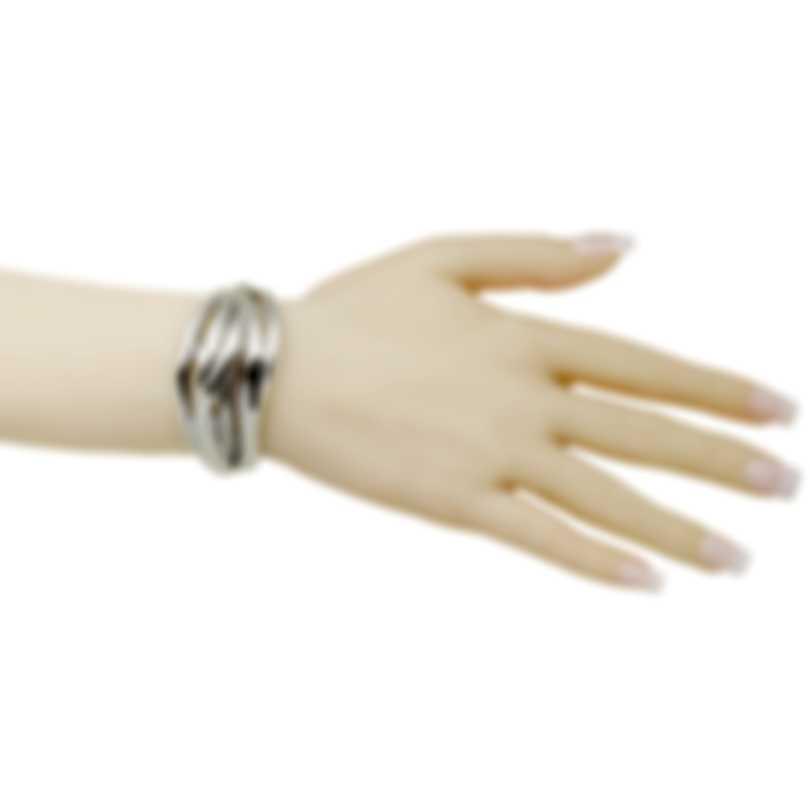 Calvin Klein Crisp Stainless Steel Bangle Bracelet KJ1RMD0001-XS