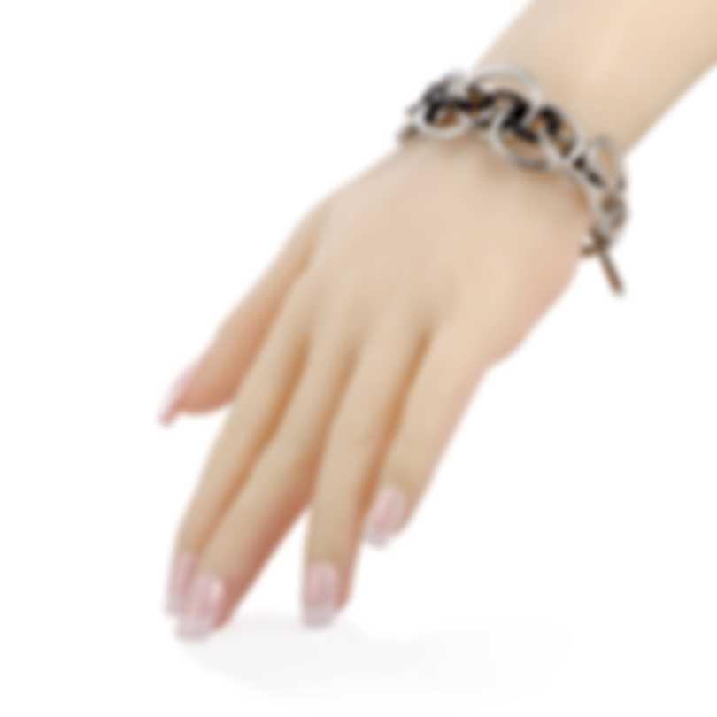 Calvin Klein Forward Stainless Steel And Black PvD Bracelet KJ1QBB2001-0S
