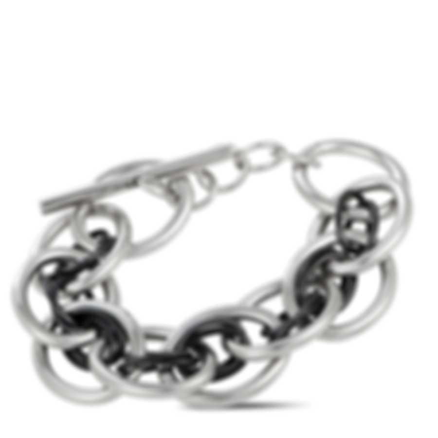 Calvin Klein Forward Black PVD Stainless Steel Bracelet KJ1QBB2001-XS