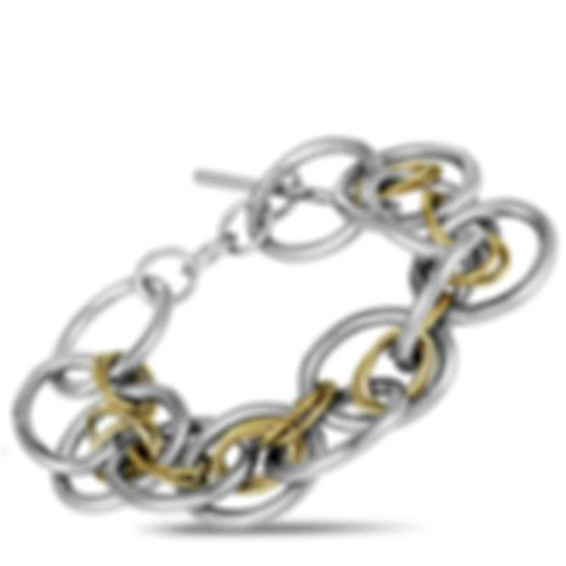 Calvin Klein Forward Stainless Steel And Yellow PvD Bracelet KJ1QJB2001-0S