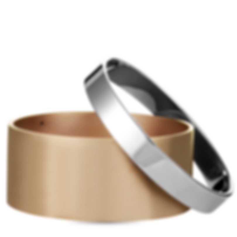Calvin Klein Satisfaction Stainless Steel And Pink PvD Bracelet KJ1DPD2801-0S