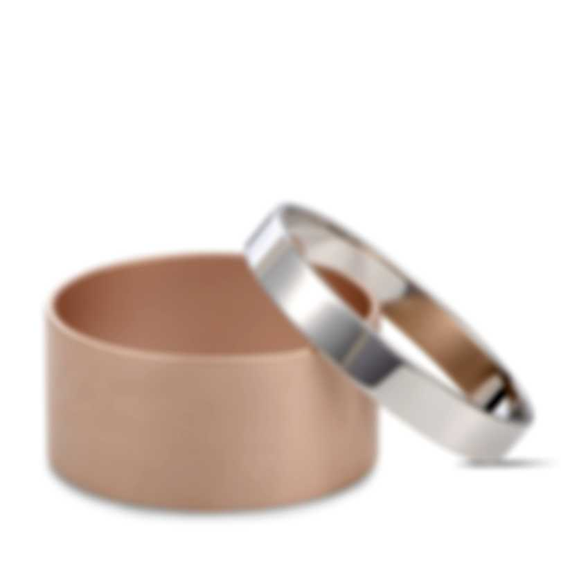 Calvin Klein Satisfaction Pink PVD & Stainless Steel Bracelet KJ1DPD2801-XS