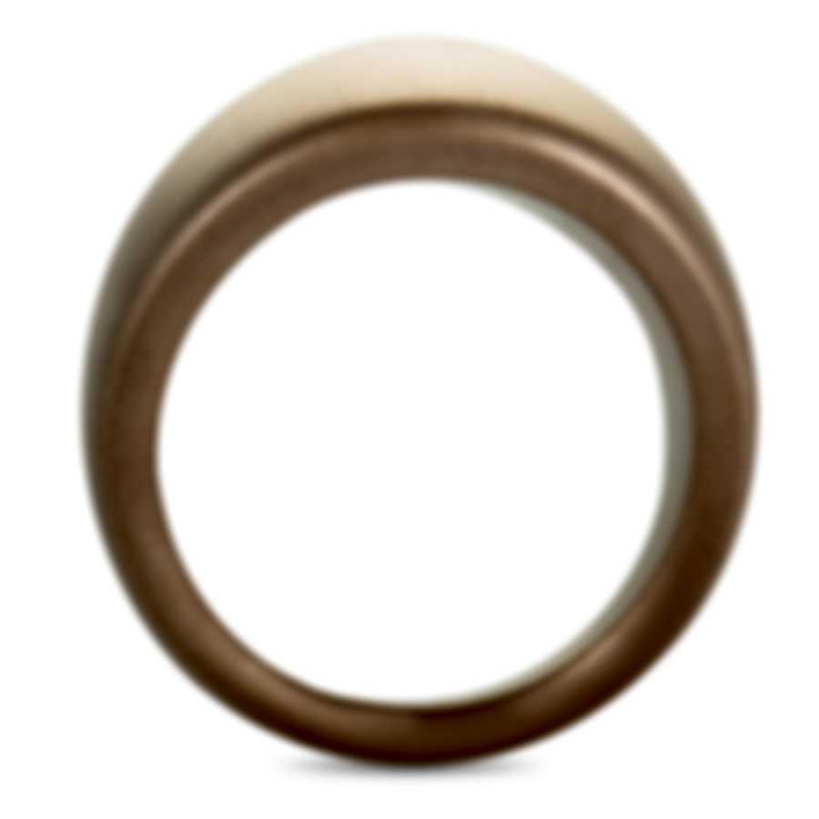 """Calvin Klein - """"Billow"""" Pink PVD Stainless Steel Ring KJ93PR1001-06"""