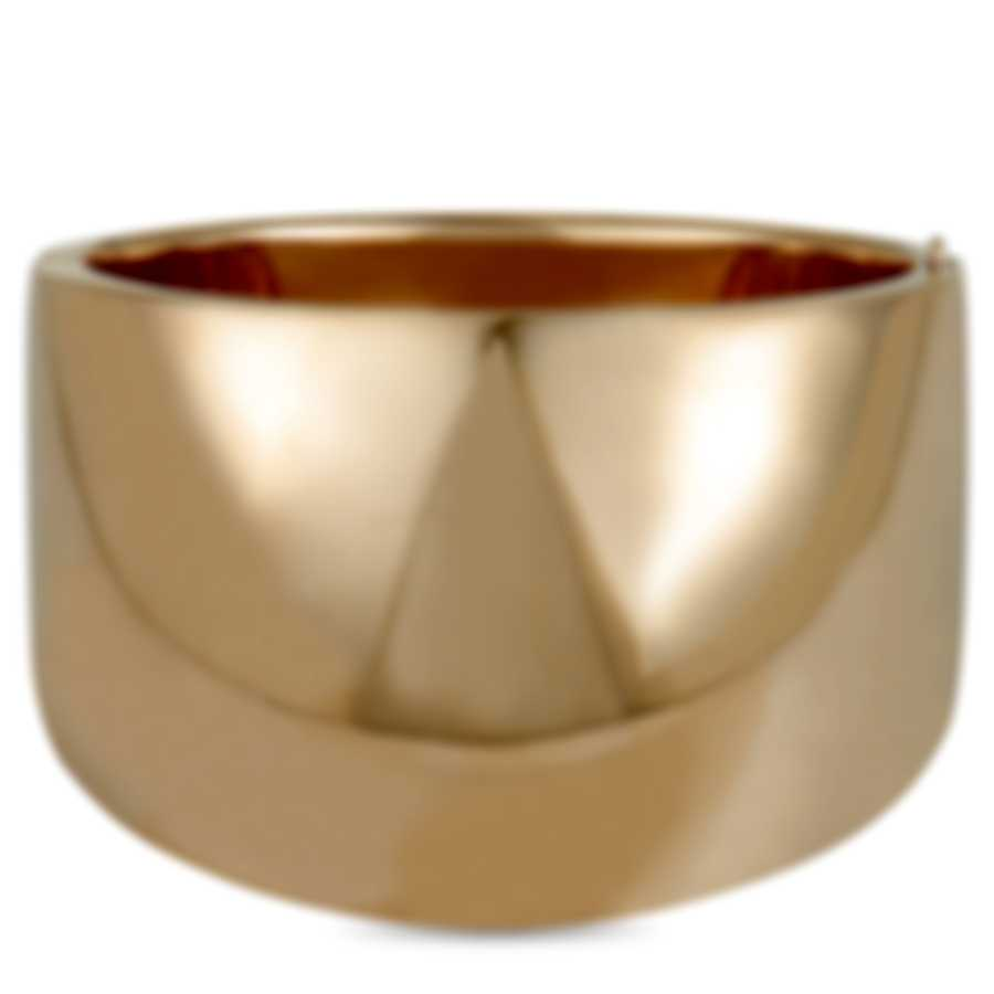 Calvin Klein Billow Pink PVD Stainless Steel Bangle Bracelet KJ93PD1001-0S