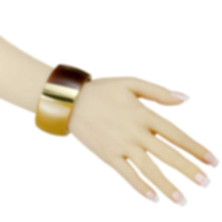Calvin Klein Vision Gold-Plated Stainless Steel Bangle Bracelet KJ2RCD2901-0S