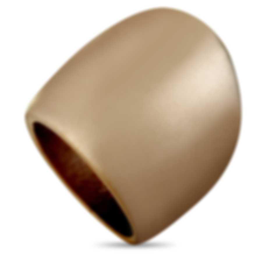 """Calvin Klein - """"Billow"""" Pink PVD Stainless Steel Ring KJ93PR1101-06"""