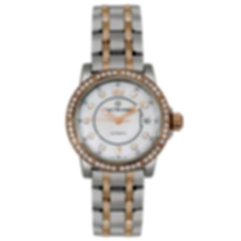 Carl F. Bucherer Patravi Auto Date Two Tone Automatic Ladies Watch  00.10621.07.77.31