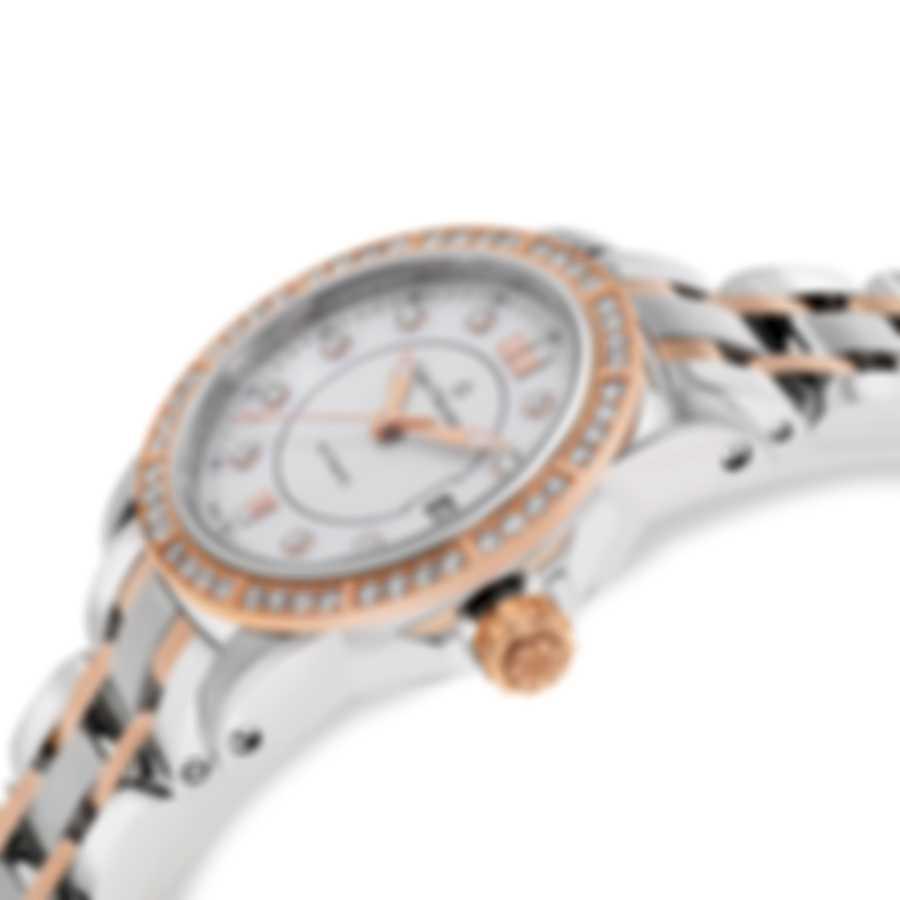 Carl F. Bucherer Patravi Auto Date Two Tone Automatic Ladies Watch  00.10621.07.77.31