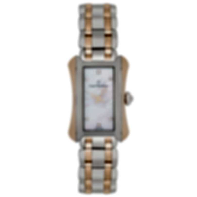 Carl F. Bucherer Alacria Queen 18K Rose Gold & Steel Quartz Ladies Watch 00.10701.07.77.21