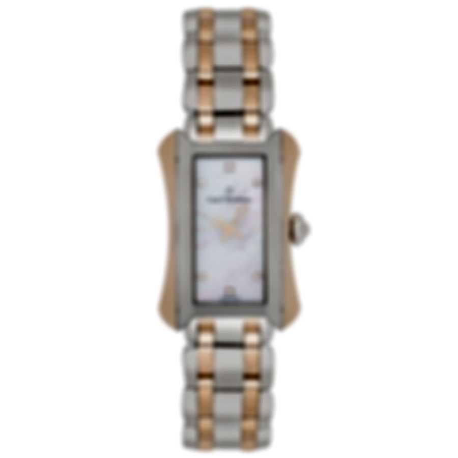 Carl F. Bucherer Alacria Queen 18K Rose Gold & Steel Quartz Ladies Watch 00.10701.07.77.21