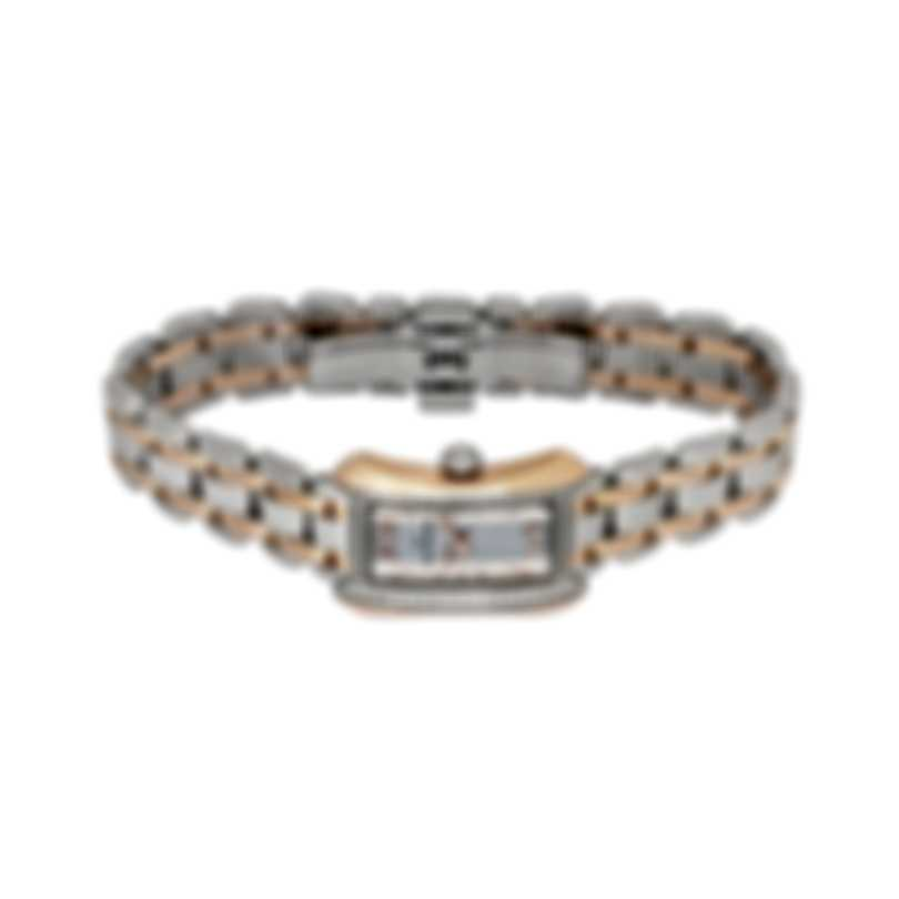 Carl F. Bucherer Diamond Two Tone Alacria Princess Quartz Ladies Watch 00.10703.07.15.31
