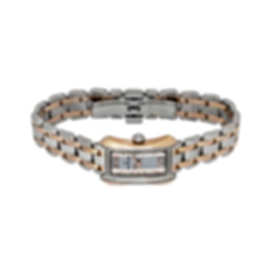 Carl F. Bucherer Diamond Two Tone Alacria Princess Quartz Ladies Watch 00.10703.07.15.31