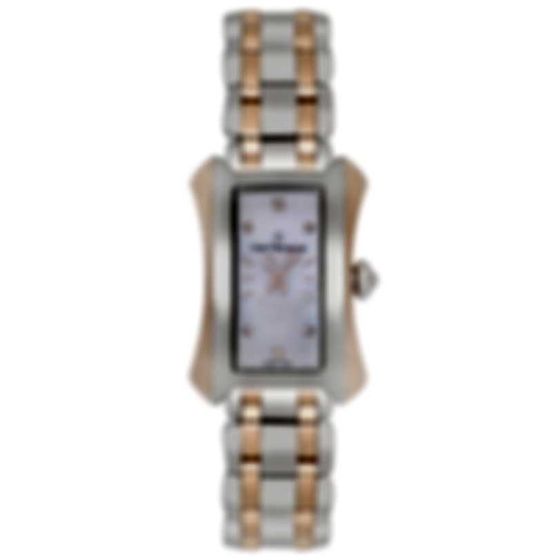 Carl F. Bucherer Alacria Princess Two Tone Quartz Ladies Watch 00.10703.07.77.21