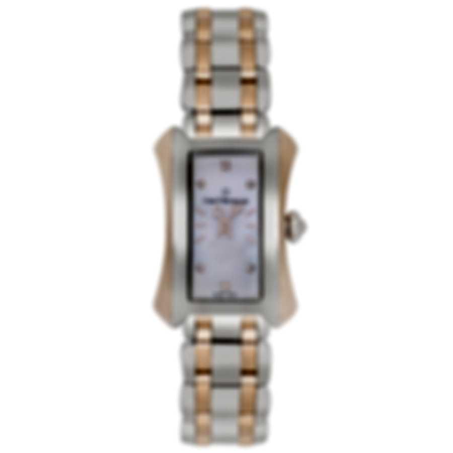 Carl F. Bucherer Alacria Princess Two Tone Quartz Ladies Watch 00.10703.07.77.21