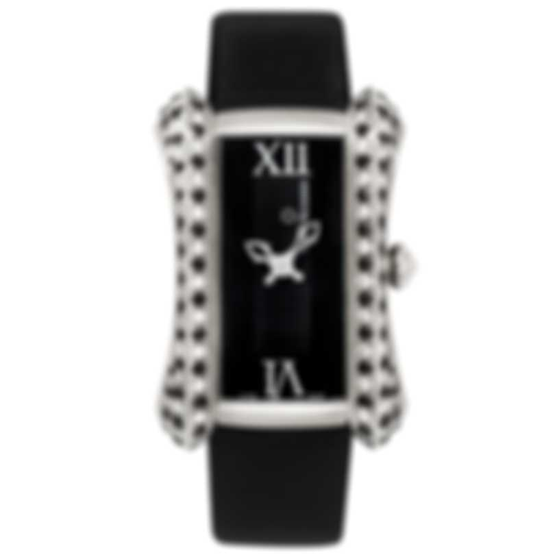 Carl F Bucherer Alacria Diva 18K White Gold Quartz Ladies Watch 00.10705.02.31.13