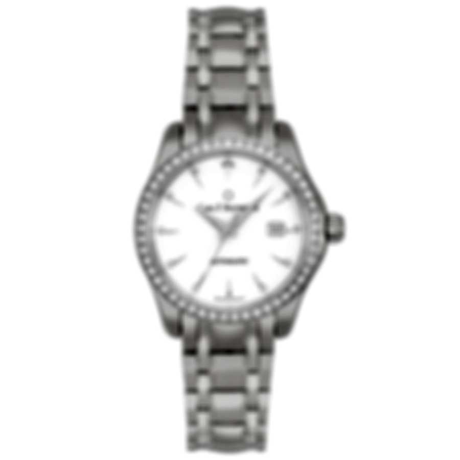 Carl F. Bucherer Manero Autodate Diamond Automatic Ladies Watch 00.10911.08.23.31