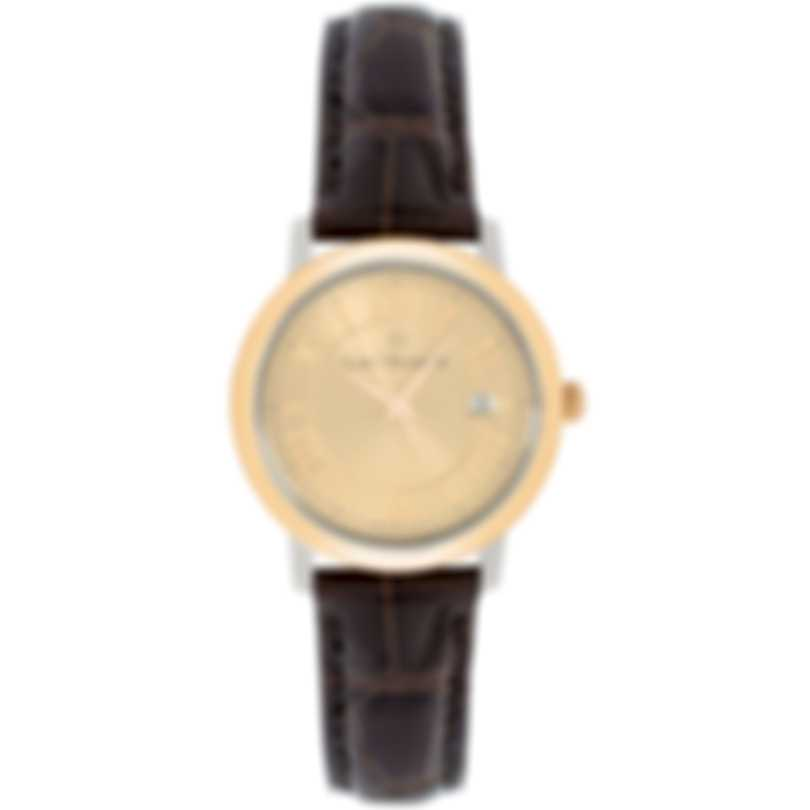 Carl F. Bucherer 18K Rose Gold & Stainless Steel 28mm Adamavi Quartz Watch 00.10315.07.45.01