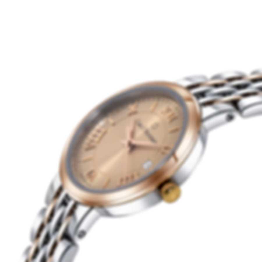Carl F. Bucherer Adamavi 18K Rose Gold & Stainless Steel 28mm Quartz Watch 00.10315.07.45.21