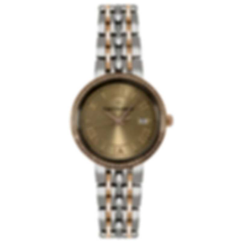 Carl F. Bucherer Adamavi Diamond Two Tone Quartz  Watch 00.10315.07.45.31