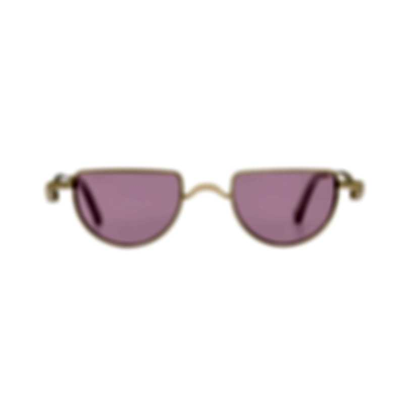 Chloe Women's Gold Pink Metal Sunglasses CE158S-853