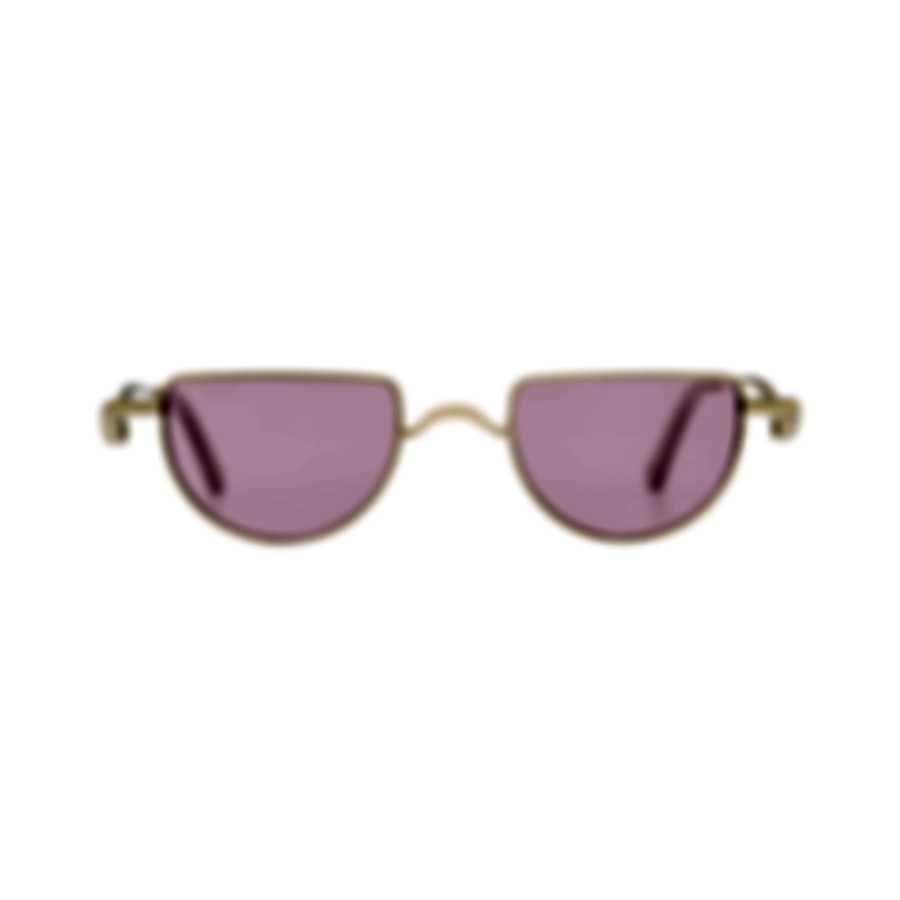 Chloe Women's Gold Pink Metal Sunglasses CE158S-853