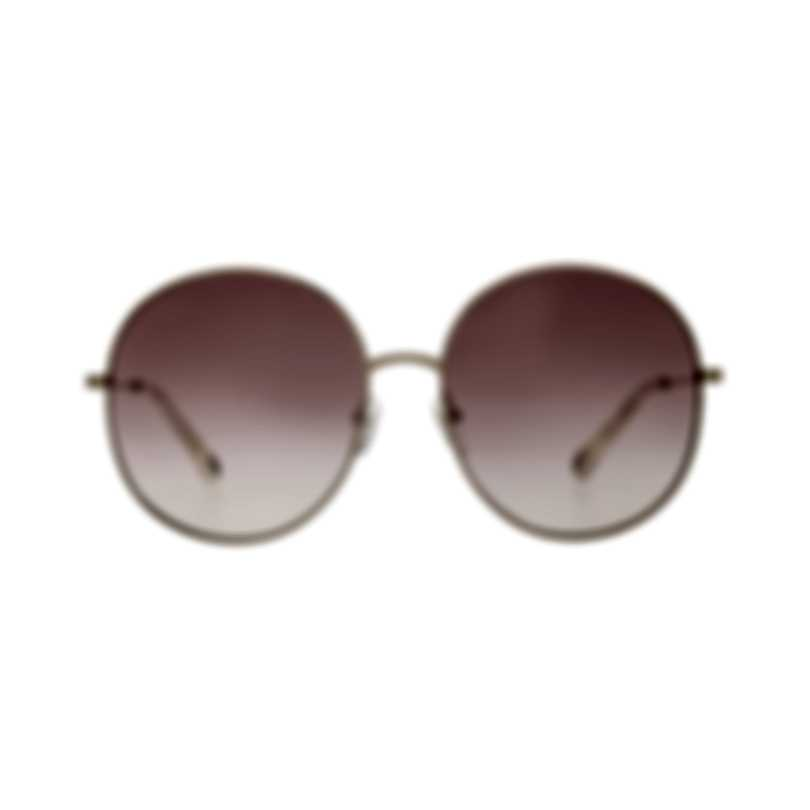 Chloe Women's Gold Red Gradient Metal Sunglasses CE171S-892