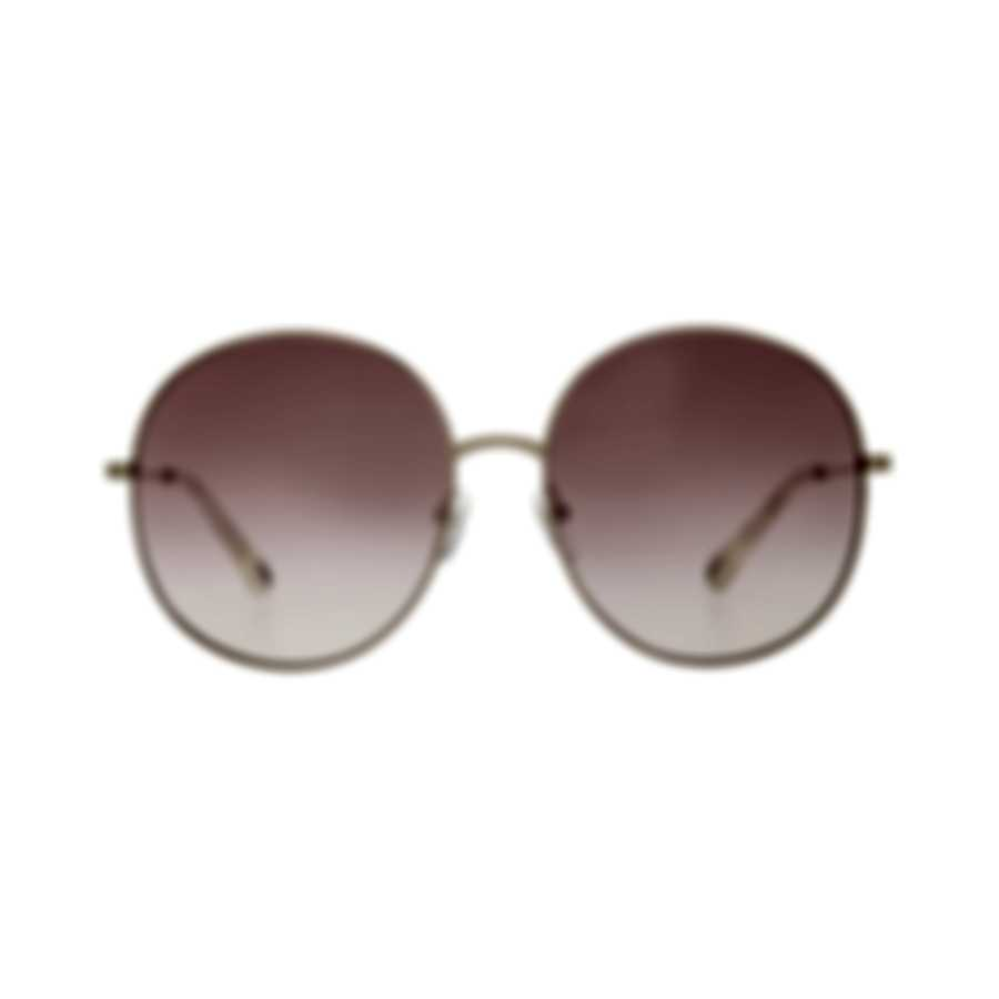 Chloe Women's Gold Red Gradient Metal Sunglasses CE171S-892