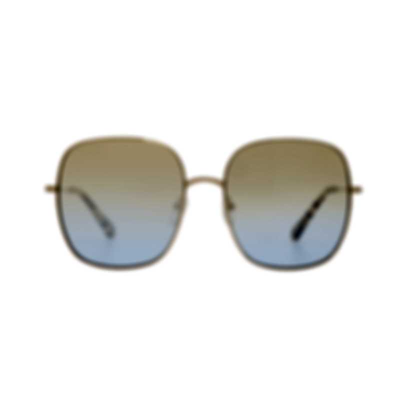 Chloe Women's Gold Metal Sunglasses CE172S-895
