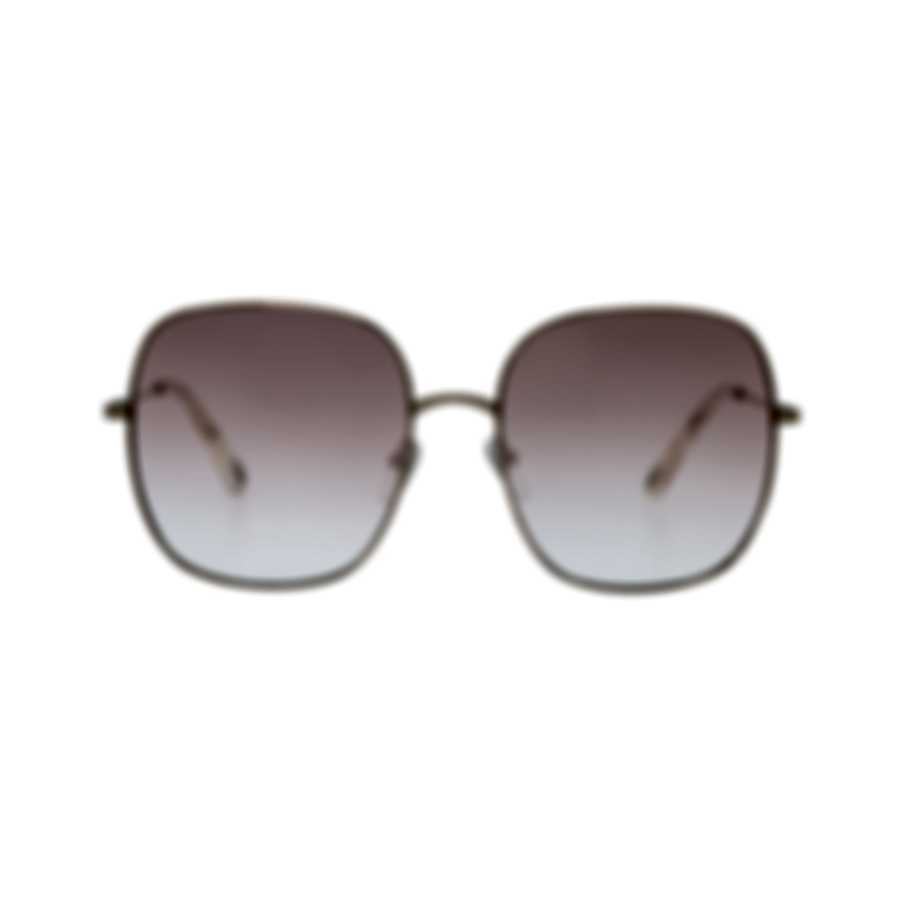 Chloe Women's Rose Gold And Pink Metal Sunglasses CE172S-896