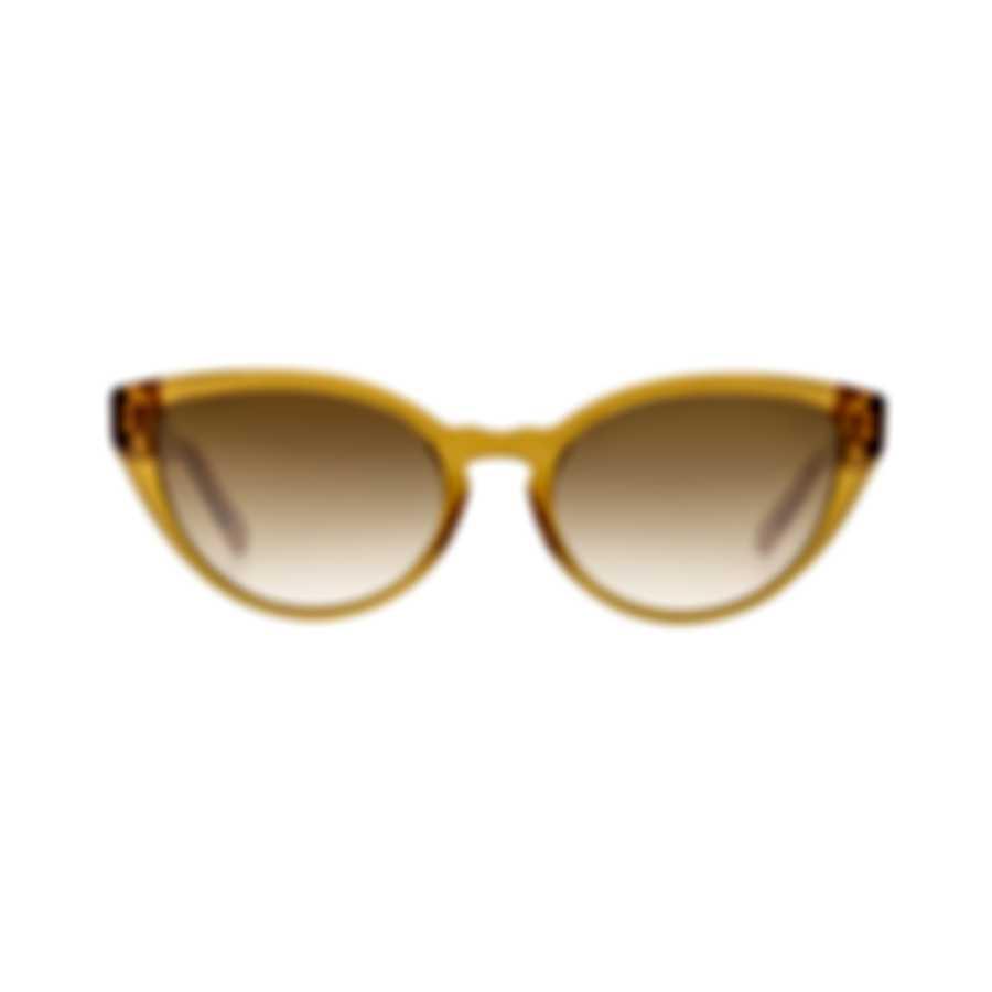 Chloe Women's Orange Acetate Sunglasses CE757S-204