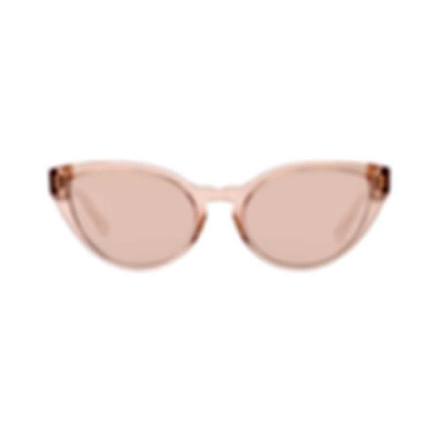 Chloe Women's Coral Pink Acetate Sunglasses CE757S-626